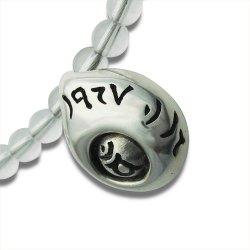 画像3: 梵字アクセサリー シルバー パワーストーンネックレス 生粋魂(きっすいこん)水晶