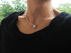 画像5: 梵字アクセサリー シルバー パワーストーンネックレス 生粋魂(きっすいこん)水晶