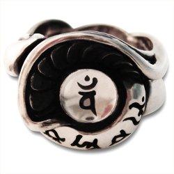 画像2: 梵字アクセサリー シルバー リングP:旋風神(せんぷうしん) 梵字リング