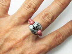 画像5: 梵字アクセサリー パワーストーン シルバー リング【魂玉の指輪:蔦(つた)】ロードナイト