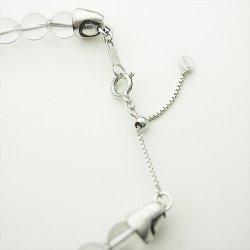 画像5: 梵字アクセサリー パワーストーンブレス 「結晶の環」 水晶 クリスタル (ブレスサイズ16号)