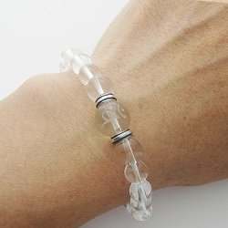 画像4: 梵字 パワーストーン水晶ブレス:金剛の光輪 水晶SA