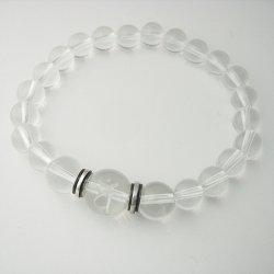 画像2: 梵字 パワーストーン水晶ブレス:金剛の光輪 水晶SA